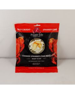 Spanner Crab Meat Cooked 500g/Frozen