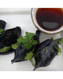 Dumplings Squid Prawn & Pork Charcoal Infused 720g/Frozen