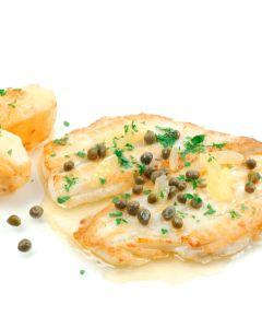 Yellowbelly Flounder Fillets  Skin On Bone Out 500g/Fresh