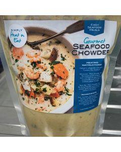 Heat n Eat Gourmet Seafood Chowder 1kg/Frozen