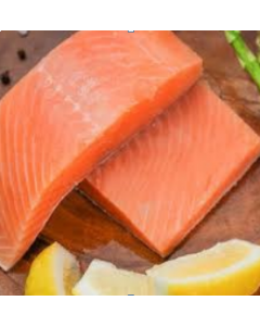 Salmon Mt Cook Skin On Portions 500g/Frozen