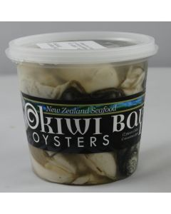 Oysters Pacific Okiwi Bay Shucked 1doz/Fresh - OUT OF SEASON