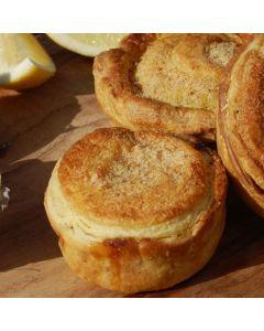 Gourmet Savouries Oyster & Tarragon 12 Pack/Frozen