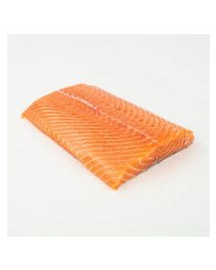 Hot Smoked Salmon Fillets 1kg/Frozen
