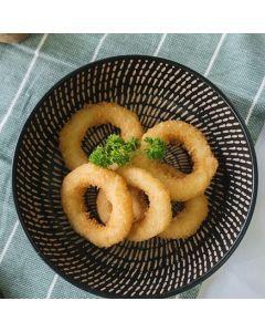 Squid Crumbed Rings 1kg/Frozen