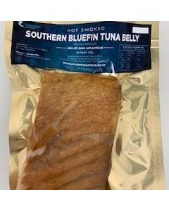Hot Smoked Southern Bluefin Belly 250g/Fresh