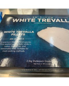 White Trevalla Fillets Skin On Bone In 2.5kg/Frozen