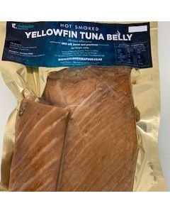 Hot Smoked Yellowfin Tuna Belly 250g/Fresh