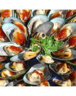 Mussels Half Shell 1kg/Frozen